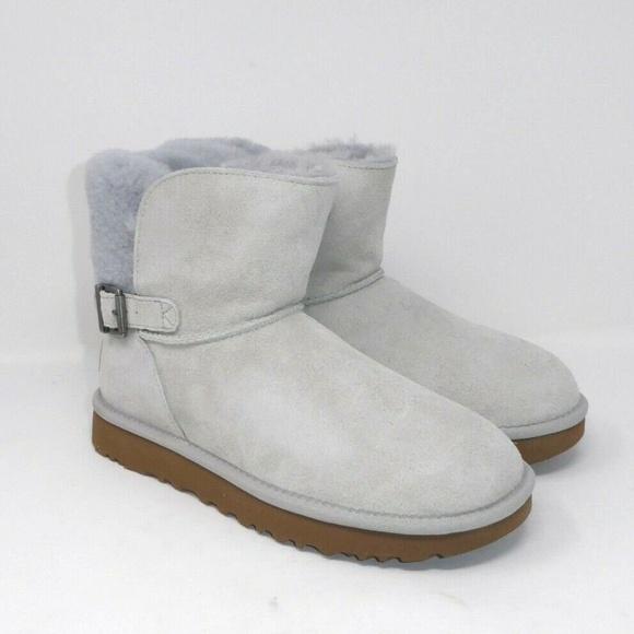 a00777eb8e1 NIB UGG Karel Suede Sheepskin Lined Classic Boots NWT